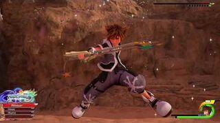 Kingdom Hearts III Re Mind Combat contre Obscurantis χ