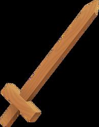 Wooden Sword KH