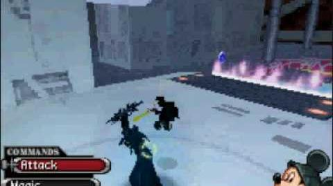 Kingdom Hearts 358 2 Anti-Saix Battle