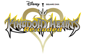 Kingdom Hearts Recoded Logo KHREC