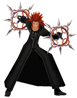 Axel Action Render KHII