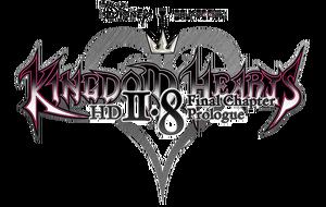 Kingdom Hearts HD 2.8 Final Chapter Prologue Logo KHHDFCP