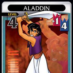La carta de Aladdín de nivel 4