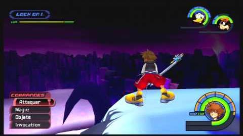 Kingdom Hearts -HD 1.5 ReMIX- Combat contre Behemoth inférieur