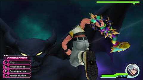 Kingdom Hearts 3D Dream Drop Distance HD Combat contre Chernobog