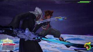Kingdom Hearts III Re Mind Combat contre le Jeune Xehanort (Limitcut)