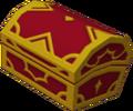 Coffre rouge Ville de Traverse-Cité du Crépuscule