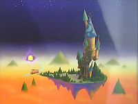 Twilight Town- Mysterious Tower (Art) KHII