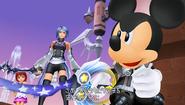 Mickey, Kairi et Aqua