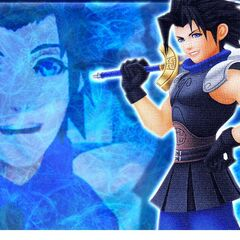 Zack en Kingdom Hearts Birth By Sleep.