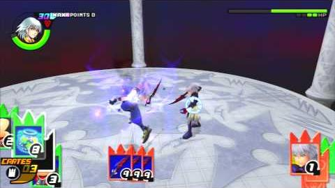 Kingdom Hearts Re Chain of Memories Reverse Rebirth Combat contre Néo Riku