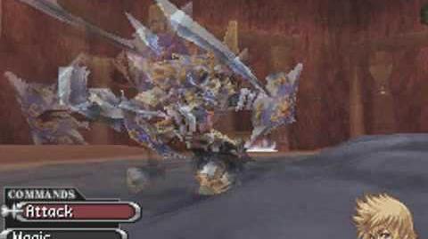 358 2 Days, English boss battle 04 - Xion (Third Form)