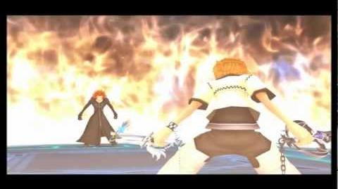 Kingdom Hearts 2 Final Mix - Axel 2nd fight (English,Critical)-No Damage-