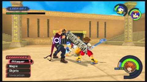 Kingdom Hearts -HD 1.5 ReMIX- Combat contre Cloud 2