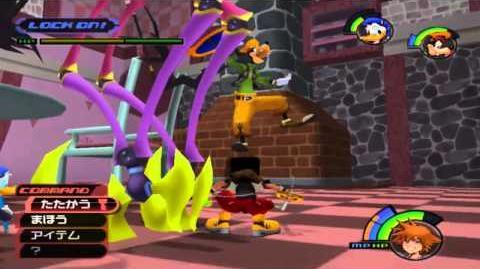 Let's play Kingdom Hearts Final Mix Parte 9 La princesa desaparecida, la sombra y la cerradura