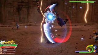 Kingdom Hearts III Expert Combat contre Terra-Xehanort et Vanitas