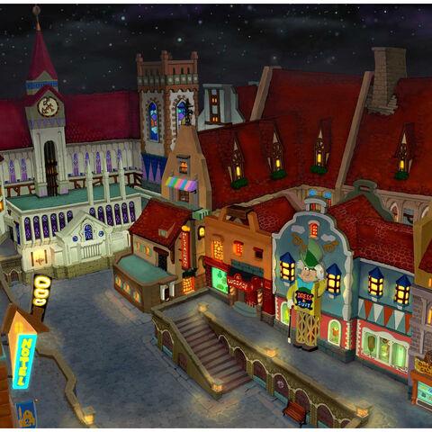Tienda donde aparece el Sombrerero Loco en el segundo distrito