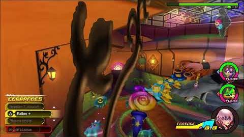 Kingdom Hearts 3D Dream Drop Distance HD Portails secrets - Combat contre Primoko (Riku)