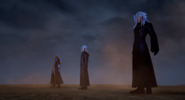 Ansem, Young Xehanort and Xemnas KH3