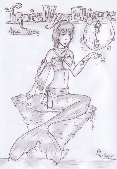 Aqua dessin
