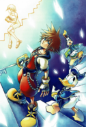 Kingdom hearts chain of memories promotional
