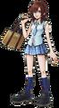 Kairi in School Uniform (Art) KHII.png