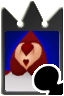 Card Soldier, Heart (card)