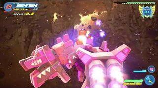 Kingdom Hearts III Expert Combat contre le Requin écarlate