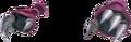 Armure rouge (Gantelets) KH