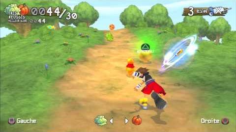 Kingdom Hearts Re Chain of Memories Panique potagère