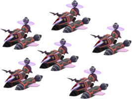 Black Copter Fleet KHX
