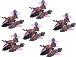 Black Copter Fleet KHX