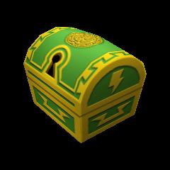 Un cofre pequeño que aparece en Coliseo del Olimpo