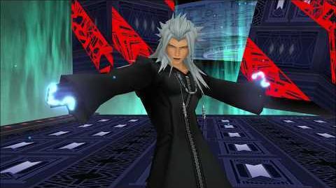 Kingdom Hearts 3D Dream Drop Distance HD Combat contre Xemnas