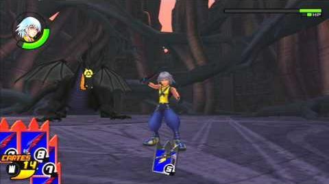 Kingdom Hearts Re Chain of Memories Reverse Rebirth Combat contre Maléfique