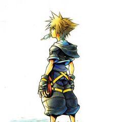 Artwork de Sora que aparece en el menú de inicio