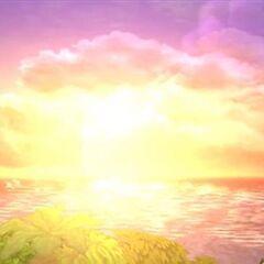 Sora obserbando el Crepúsculo en <a href=