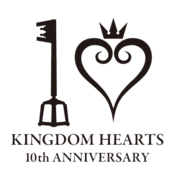 Kingdom Hearts 10th Anniversary Logo