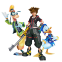 Kingdom Hearts Main Page left