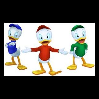 Los 3 sobrinos de <a href=
