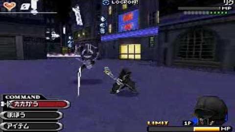 Kingdom Hearts 358 2 Days Final Day Deep Dive Fight, Roxas VS Riku
