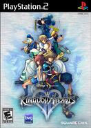 Kingdom Hearts II Jaquette USA