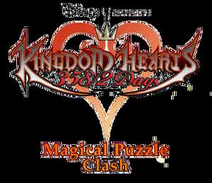 Kingdom Hearts Magical Puzzle Clash Logo KHD