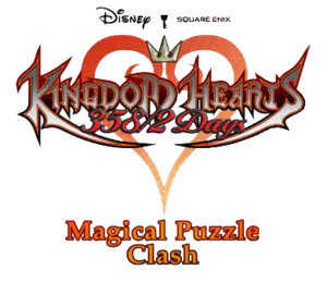 Kingdom Hearts Magical Puzzle Clash Logo KHD