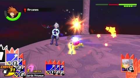 Kingdom Hearts Re Chain of Memories Combat contre Riku 3