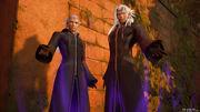 Ansem and Xemnas KHIII