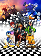 Kingdom Hearts 1.5 Artwork