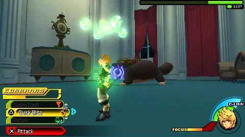 Kingdom Hearts Birth by Sleep - Lucifer - Ventus Critical Mode