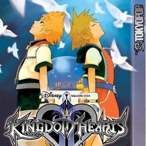 Primer tomo del manga de <i>Kingdom Hearts II</i>