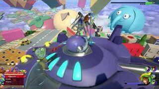 Kingdom Hearts III Expert Combat contre le Roi des jouets